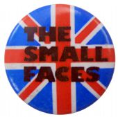 The Small Faces - 'UK Flag' Button Badge